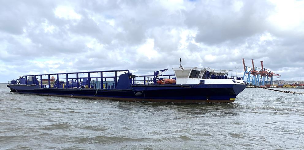 roro-vessel Asterix  Sandinge