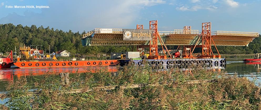 barge rental Sweden